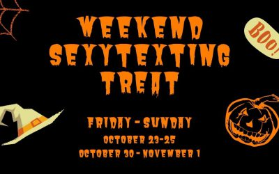 Halloween Weekend Sexytexting Treat!