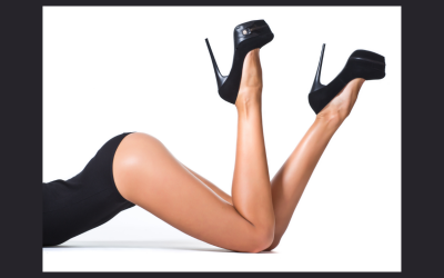 Leg Worship – From The Top Down, Or The Bottom Up?